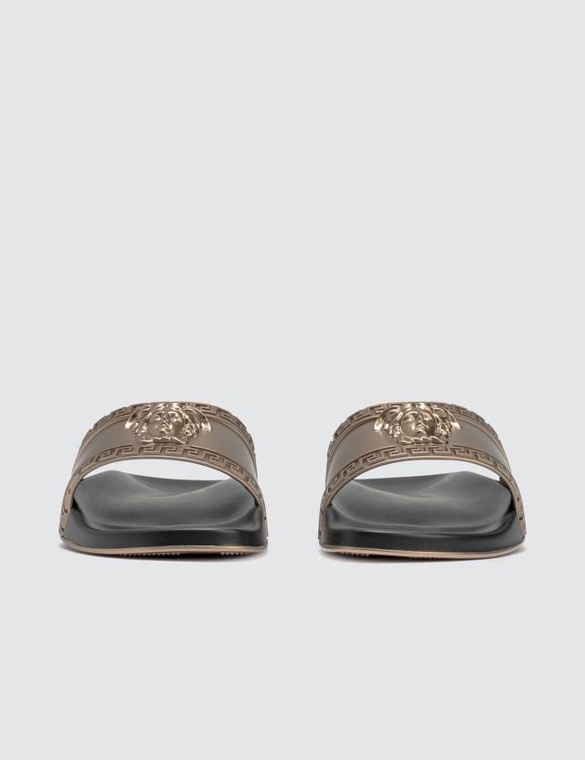 Versace Medusa Head Sandal