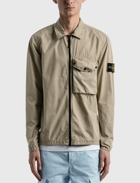 스톤 아일랜드 Stone Island One Pocket Zip Shirt