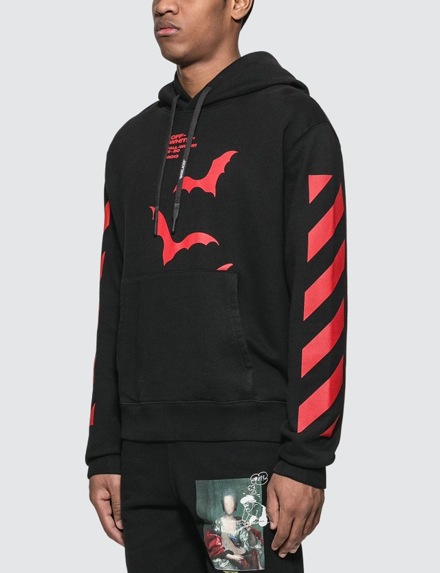Off-White Diagonals Bats Slim Hoodie