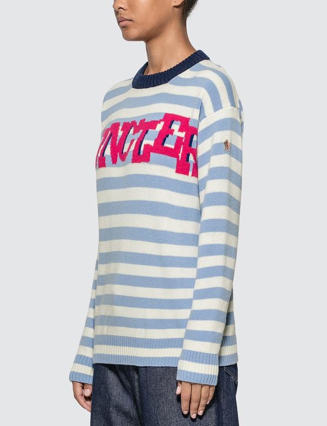 Moncler Striped Logo Sweater