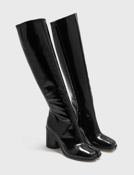 메종 마르지엘라 Maison Margiela Tabi Pull-on knee-high Boots