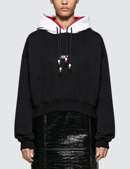 MSGM Double Hooded Hoodie