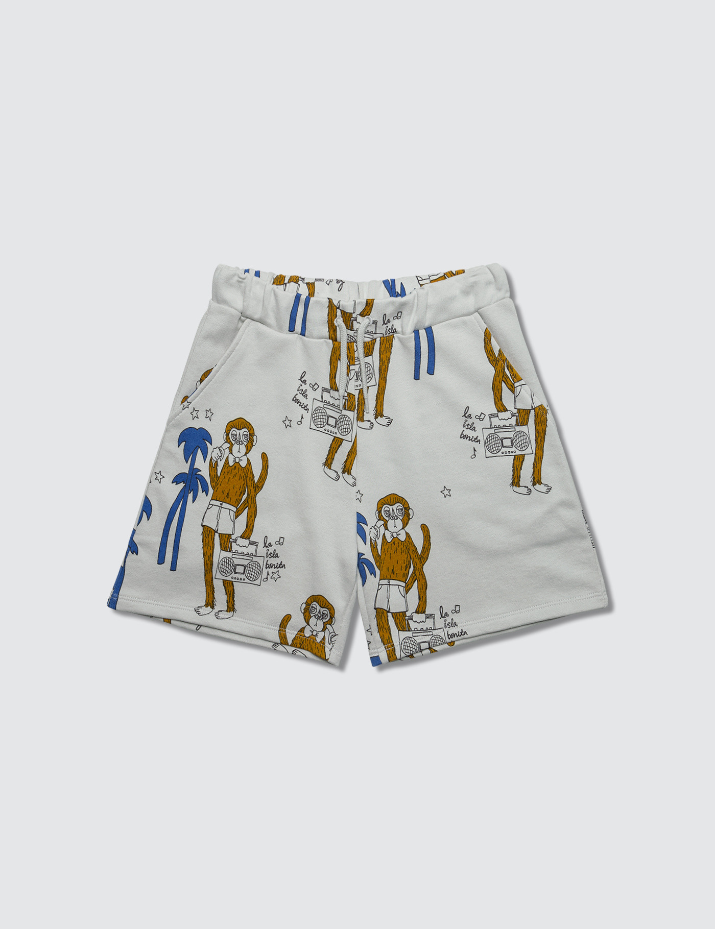 Cool Monkey Aop Sweatshorts