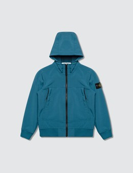 Stone Island Hooded Zip Jacket (Infant)