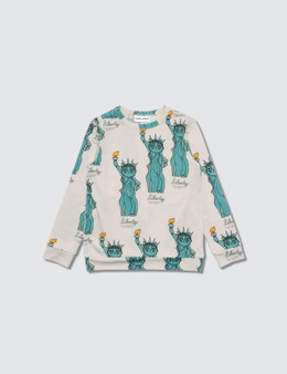 Mini Rodini Liberty Aop Long Sleeve T-shirt
