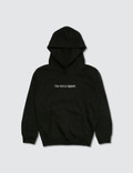 F.A.M.T. Kids' I'm Not A Rapper. Hoodie Black Kids