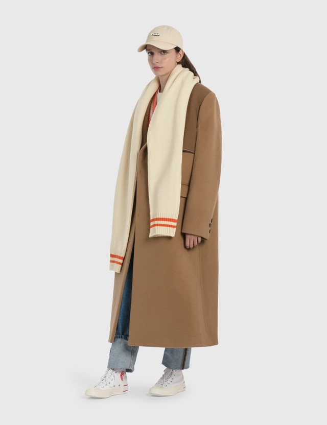 Ader Error Oversized Wool Double Coat