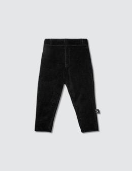 NUNUNU Velvet Tailored Pants