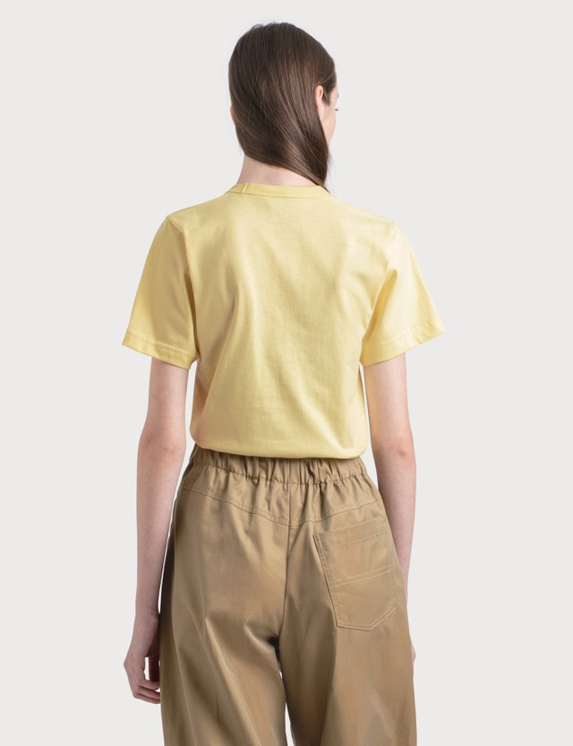 Lanvin Mother And Child Print T-Shirt 81 Pale Yellow Women