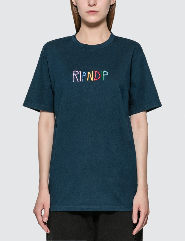 RIPNDIP Embroidered Logo T-shirt