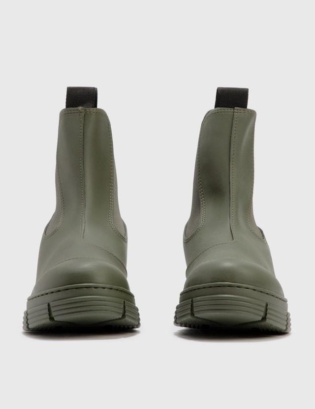 Ganni City Rubber Ankle Boot Kalamata Women