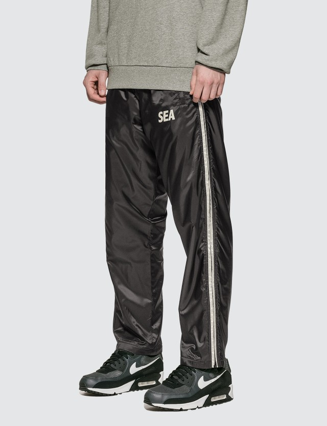 Wind And Sea Side Zip Nylon Pants