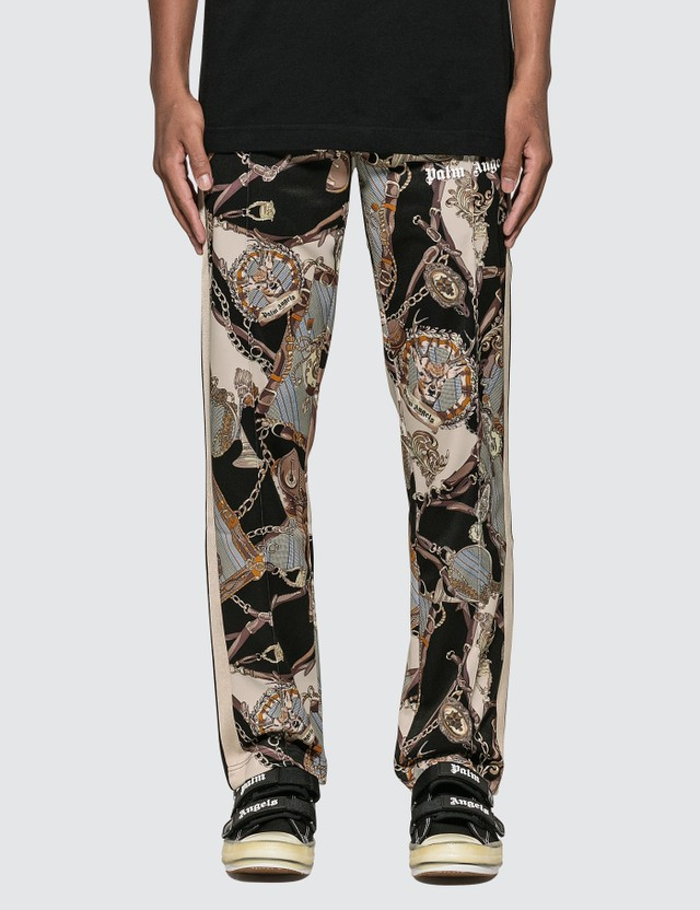 Palm Angels Dark Bridle Track Pants