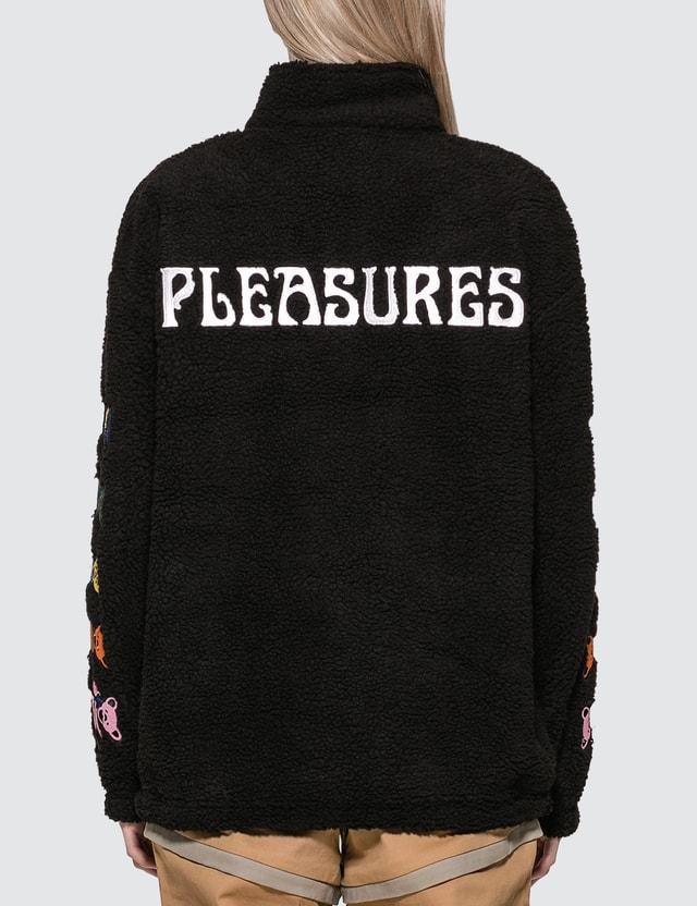 Pleasures Dead Sherpa Quarter Zip Jacket