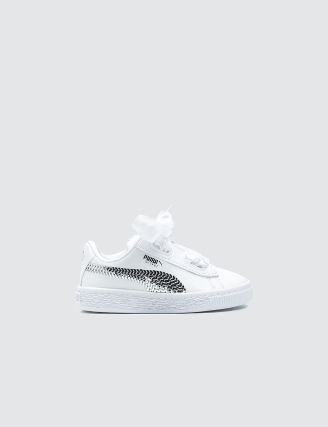 Puma Basket Heart Bling Infant