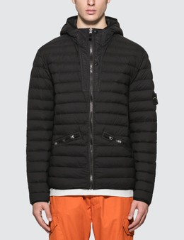 Stone Island Loom Woven Down Chambers Stretch Jacket