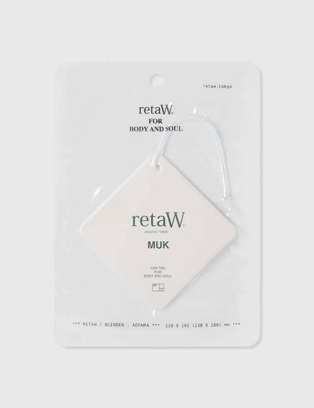 Retaw HBX x retaW Car Tag N/a Unisex