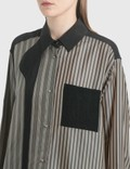 Loewe Striped Patchwork Blouse Multicolor Women