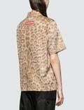 Burberry Lepoard Print Short Sleeve Shirt