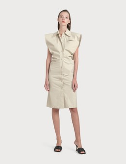 Bottega Veneta Sleeveless Shirt Dress