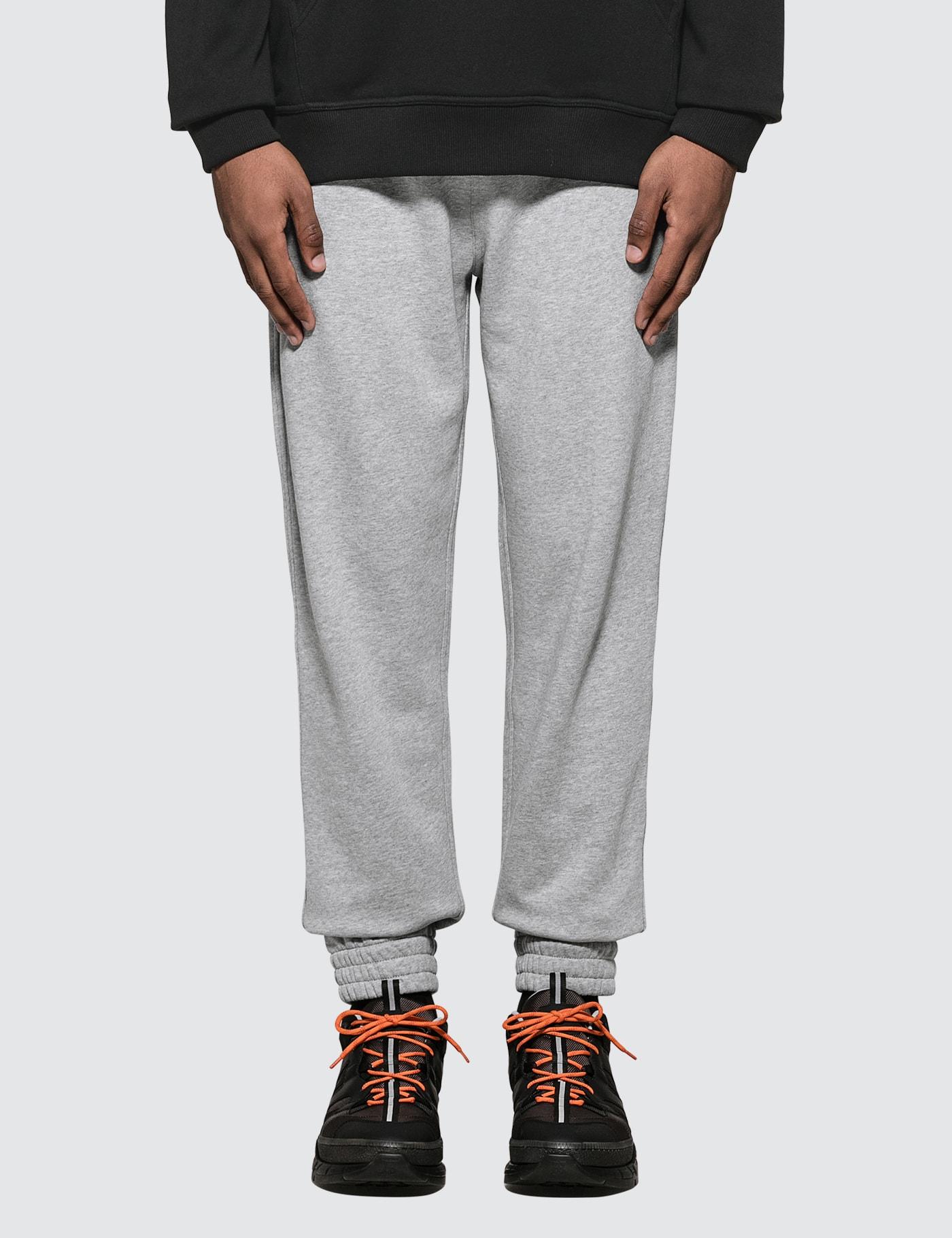 Logo Print Cotton Sweatpants