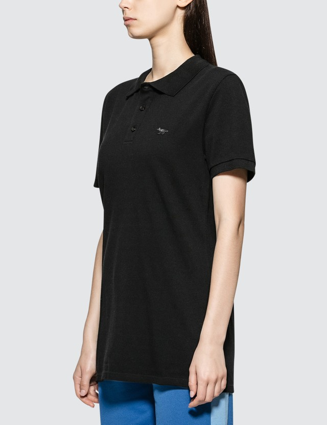 Maison Kitsune Black Fox Polo