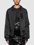 1017 ALYX 9SM Nylon Bomber Jacket With Buckle Picutre