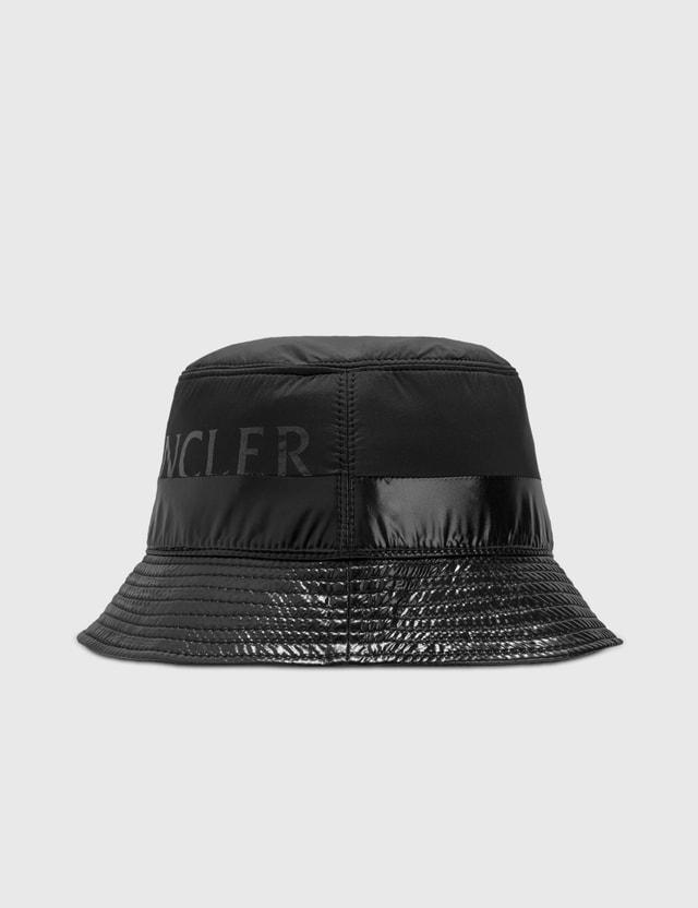 Moncler Bucket Hat Black Men