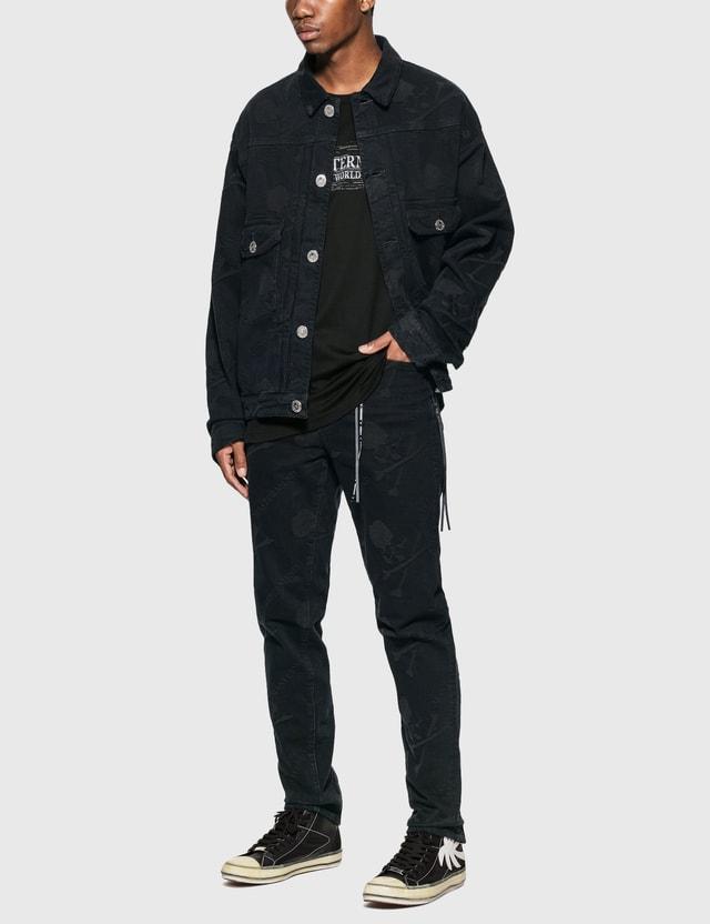 Mastermind World Monogram Denim Jacket