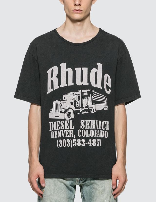 Rhude Diesel Service T-Shirt