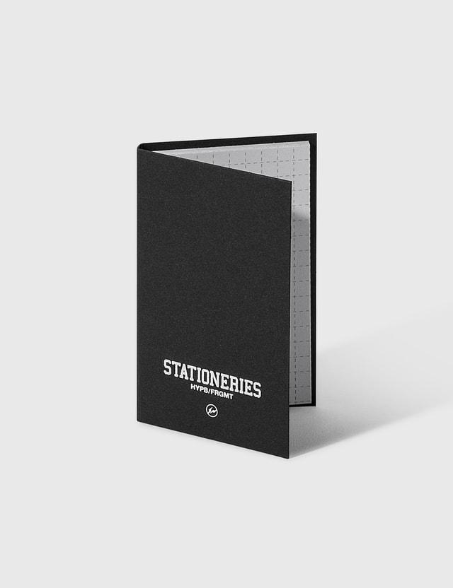 Stationeries by Hypebeast x Fragment HYPB/FRGMT Notepad Black Men