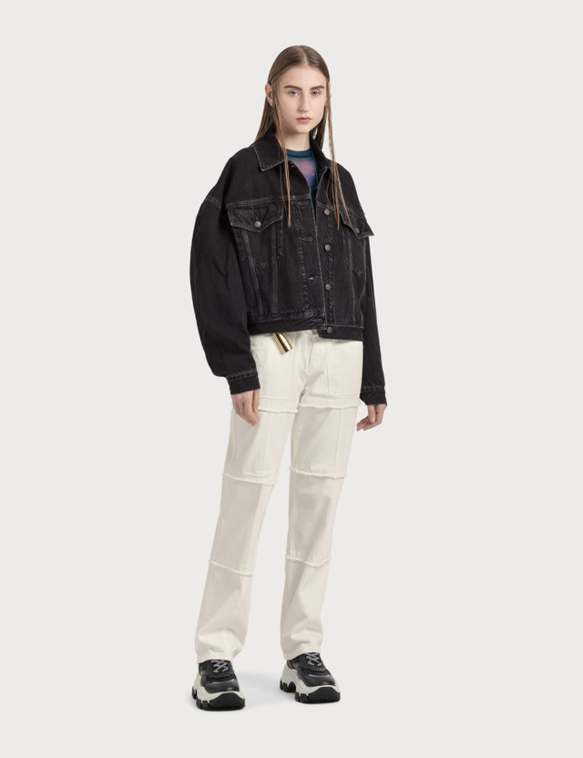 Ambush High Waisted Denim Pants