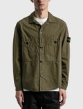 Stone Island Double Pocket Button Over Shirt Picutre