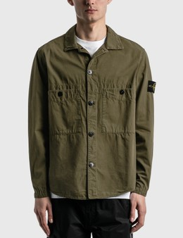 Stone Island Double Pocket Button Over Shirt