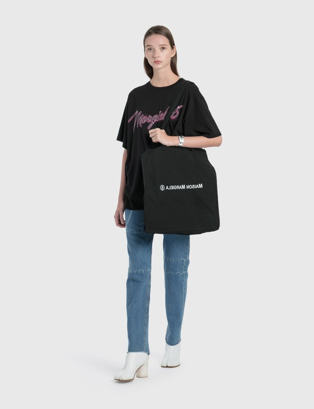 MM6 Maison Margiela 6 Handles Bag Black Women