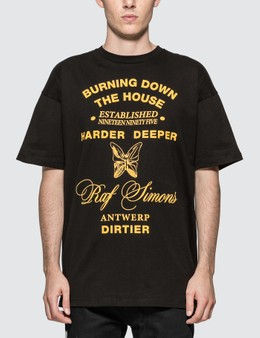 Raf Simons Big Fit Harder Deeper T-shirt