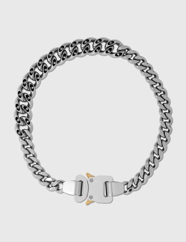 1017 ALYX 9SM Hero 4X Chain Necklace Silver Men