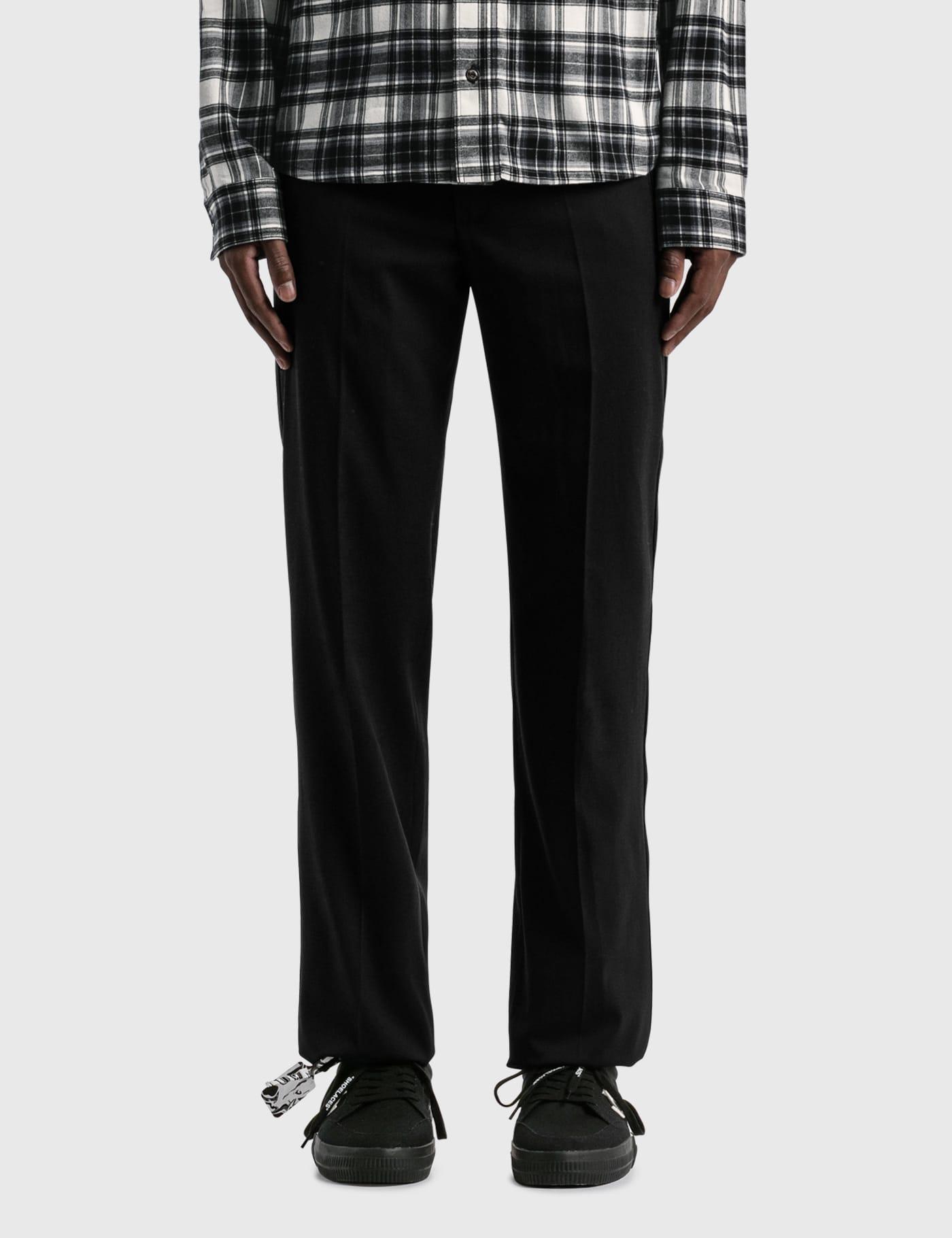 Tuxedo Zipped Clean Pants