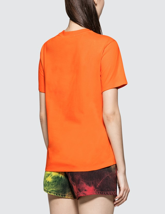 MSGM Brush Logo Short Sleeve T-shirt