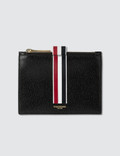 Thom Browne Small Coin Purse (14.5 cm) In Toy Icon Embossed Vegetan Vachetta Leather Picture
