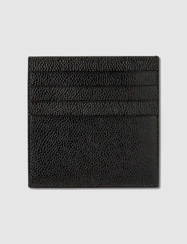 thom browne double sided card holder w note compartment rwb gg intarsia stripe in - Thom Browne Card Holder