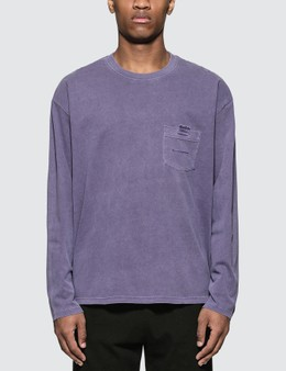Thisisneverthat T-logo Pocket L/S T-shirt