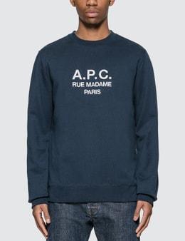 A.P.C. Rufus Embroidered Sweatshirt