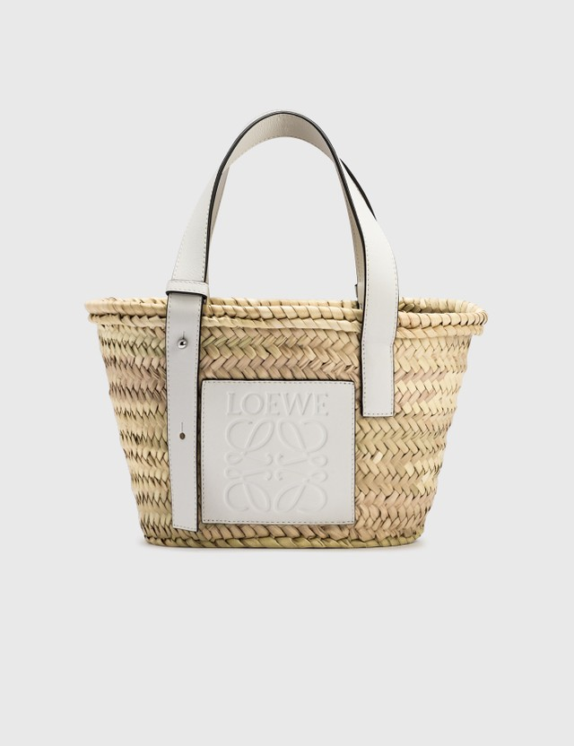 Loewe Small Basket Bag Natural/white Women