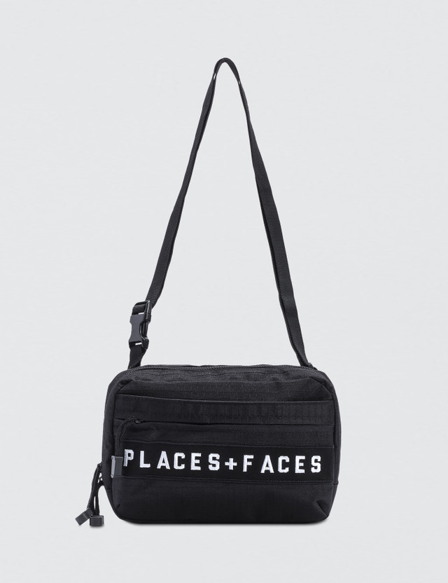 Places + Faces Logo Cross Body Bag