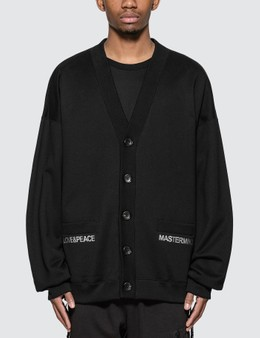 Mastermind World Skull Embroidery Cardigan