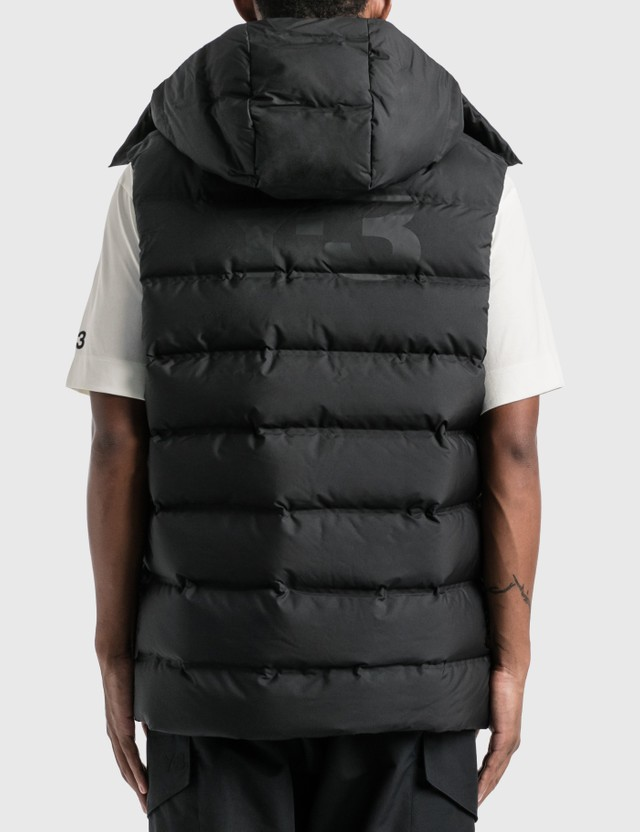 Y-3 Classic Puffy Down Vest Black Men