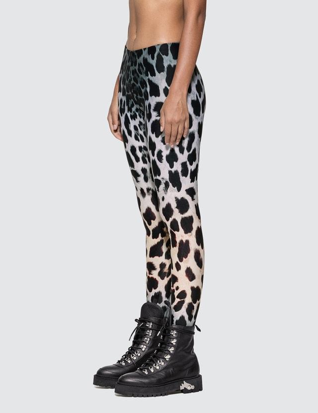 R13 Faded Leopard Leggings
