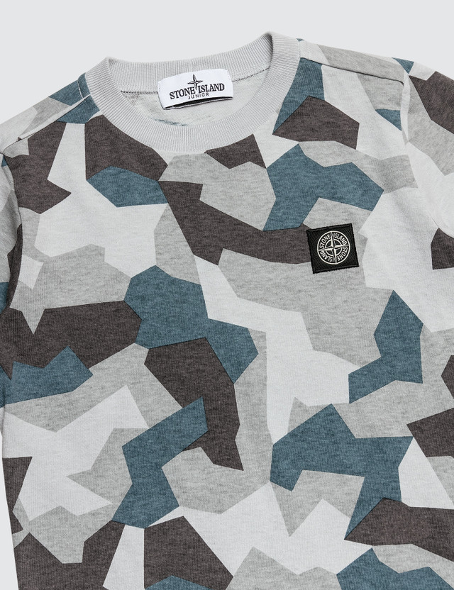 Stone Island Camo T-Shirt (Kids)