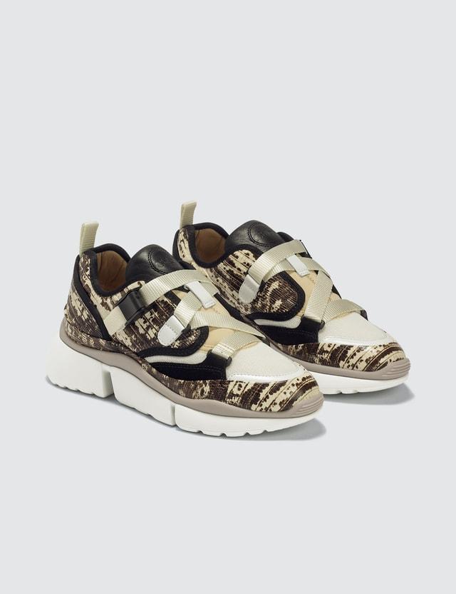 Chloé Tejus Printed Sneakers